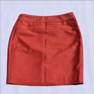 The Limited Burnt Orange Pencil Skirt NWT